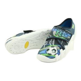 Befado obuwie dziecięce 273Y317 niebieskie szare wielokolorowe zielone 4