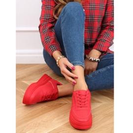 Buty sportowe damskie czerwone G191 Red 2