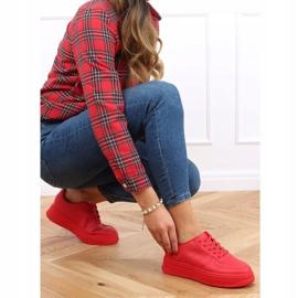 Buty sportowe damskie czerwone G191 Red 3