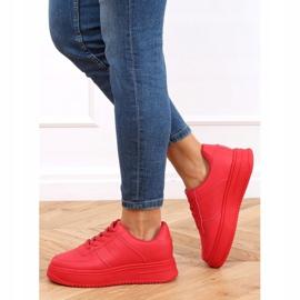 Buty sportowe damskie czerwone G191 Red 4