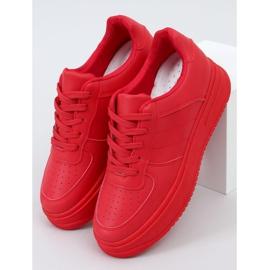 Buty sportowe damskie czerwone G191 Red 1