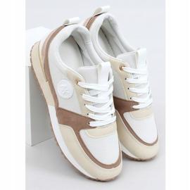 Buty sportowe beżowe TCYR-55 Khaki beżowy 1