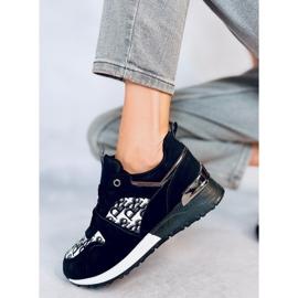 Buty sportowe czarne AB835 Black 2