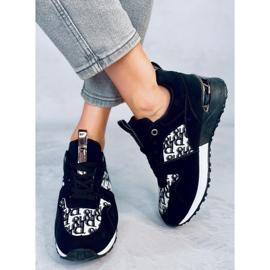 Buty sportowe czarne AB835 Black 3