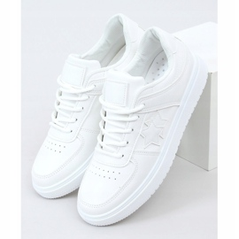Trampki damskie białe BL229P White 1