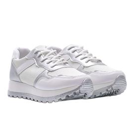 Białe sneakersy sportowe Antonia 1
