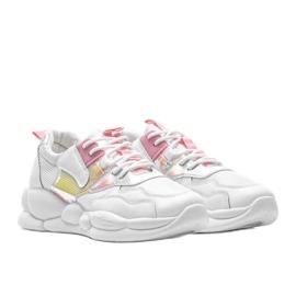 Białe buty sportowe Jaycee 1
