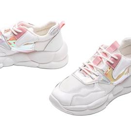Białe buty sportowe Jaycee 3