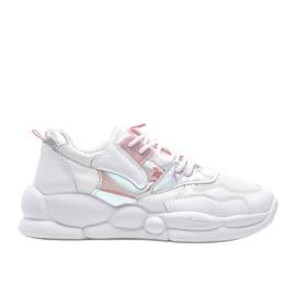 Białe buty sportowe Jaycee 4