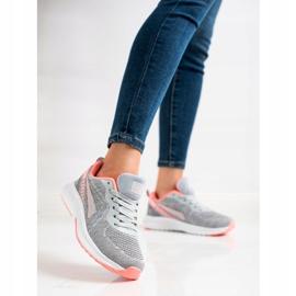 Mckeylor Sznurowane Buty Sportowe szare 4