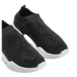 Czarne obuwie sportowe wsuwane Eva 3