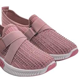 Różowe obuwie sportowe wsuwane Akira 4