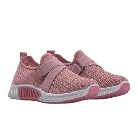 Różowe obuwie sportowe wsuwane Akira 1