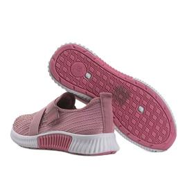 Różowe obuwie sportowe wsuwane Akira 2