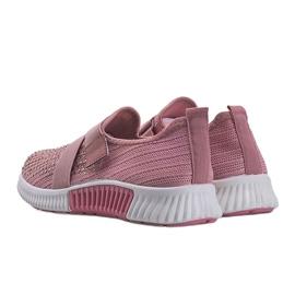 Różowe obuwie sportowe wsuwane Akira 3