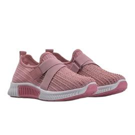 Różowe obuwie sportowe wsuwane Akira 5