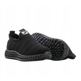 Czarne obuwie sportowe wsuwane Katy 1