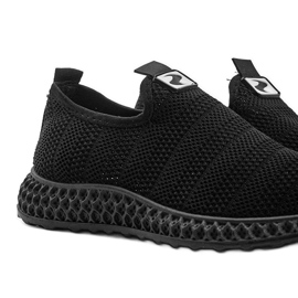 Czarne obuwie sportowe wsuwane Katy 4