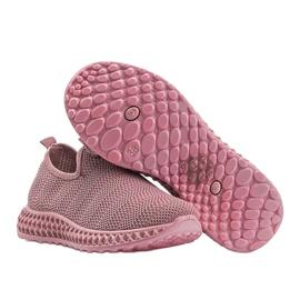 Różowe obuwie sportowe wsuwane Katy 1