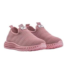 Różowe obuwie sportowe wsuwane Katy 3