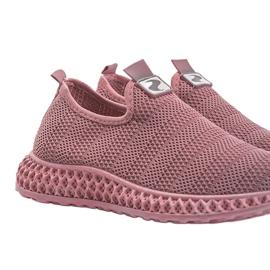 Różowe obuwie sportowe wsuwane Katy 4