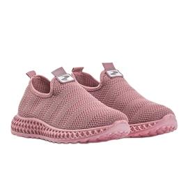 Różowe obuwie sportowe wsuwane Katy 2