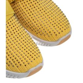 Żółte obuwie sportowe wsuwane Akira 3