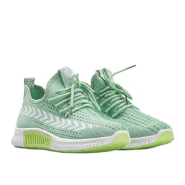 Zielone obuwie sportowe wsuwane Kaylee 1