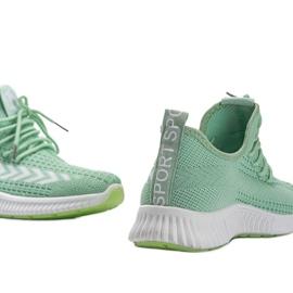 Zielone obuwie sportowe wsuwane Kaylee 2