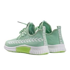 Zielone obuwie sportowe wsuwane Kaylee 3