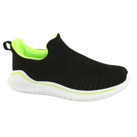 Befado obuwie młodzieżowe  516Q080 czarne 1