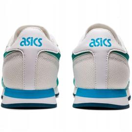 Buty dla dzieci Asics Tiger Runner Gs biało-niebieskie 1204A015 100 białe wielokolorowe 3