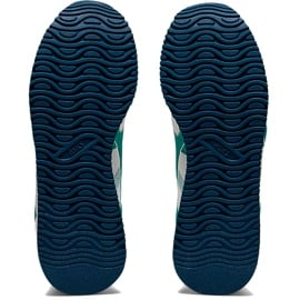 Buty dla dzieci Asics Tiger Runner Gs biało-niebieskie 1204A015 100 białe wielokolorowe 4