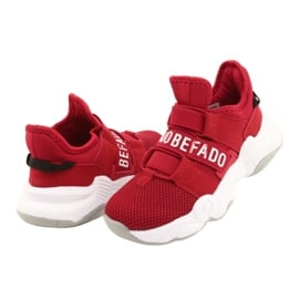 Befado obuwie dziecięce  516X064 czerwone 4