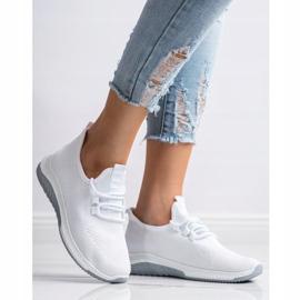 SHELOVET Casualowe Buty Sportowe białe 5