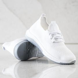 SHELOVET Casualowe Buty Sportowe białe 2