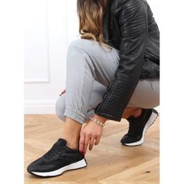 Buty sportowe czarne 6115 Black 4