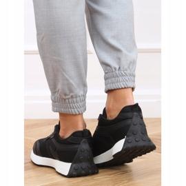 Buty sportowe czarne 6115 Black 2