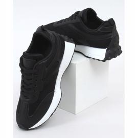 Buty sportowe czarne 6115 Black 1