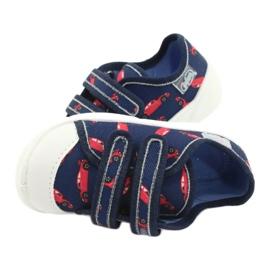 Befado obuwie dziecięce  907P133 czerwone granatowe 7