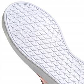 Buty dla dzieci adidas Vl Court 2.0 K niebiesko-różowe FY9151 niebieskie 6