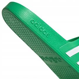 Klapki adidas Adilette Aqua zielone FY8048 4