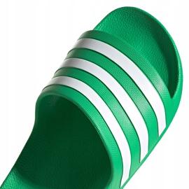 Klapki adidas Adilette Aqua zielone FY8048 3