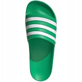 Klapki adidas Adilette Aqua zielone FY8048 1