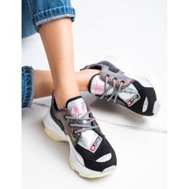 SHELOVET Kolorowe Sneakersy Sport Fashion wielokolorowe 1