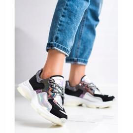 SHELOVET Kolorowe Sneakersy Sport Fashion wielokolorowe 5