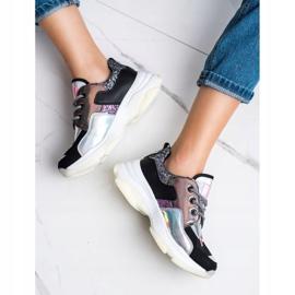 SHELOVET Kolorowe Sneakersy Sport Fashion wielokolorowe 2