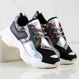 SHELOVET Kolorowe Sneakersy Sport Fashion wielokolorowe 3