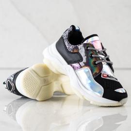 SHELOVET Kolorowe Sneakersy Sport Fashion wielokolorowe 4