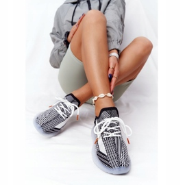 Sportowe Buty Na Żelowej Podeszwie Czarne Freestyler białe 1